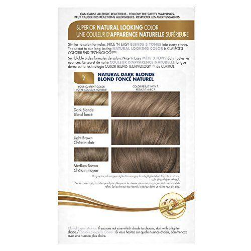 Buy Unknown Clairol Nice N Easy 7 106a Natural Dark Neutral Blonde