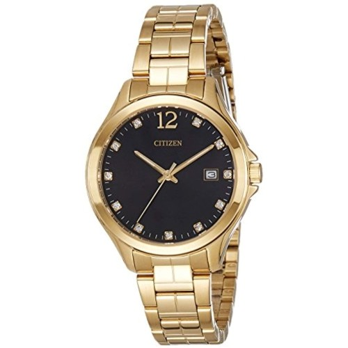 Citizen 56A Golden Round Analog Watch