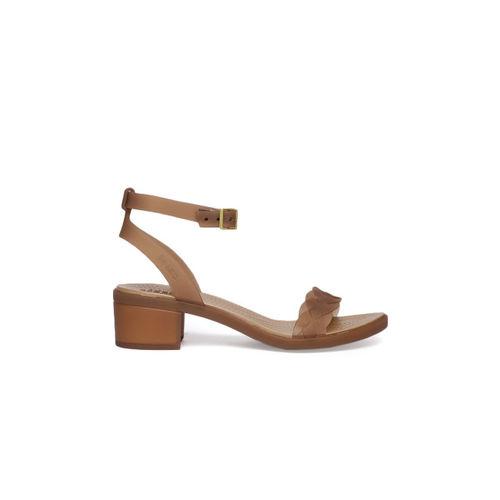 Crocs Women Copper-Toned Solid Sandals