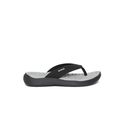 Crocs Women Black Solid Thong Flip-Flops