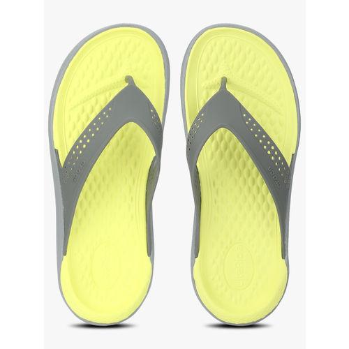 Crocs Literide Grey Flip Flops