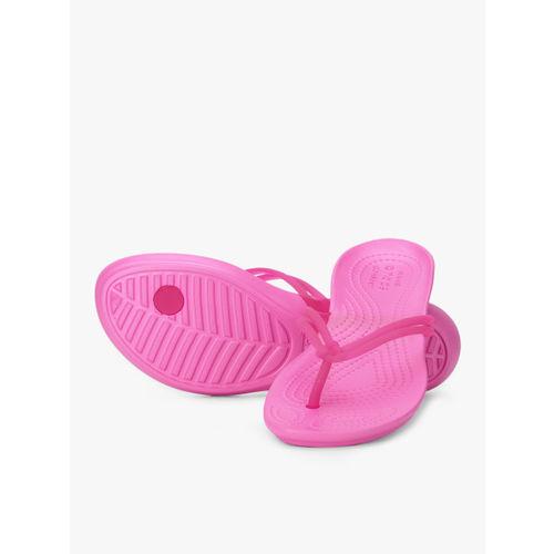 Crocs Pink Flip Flops