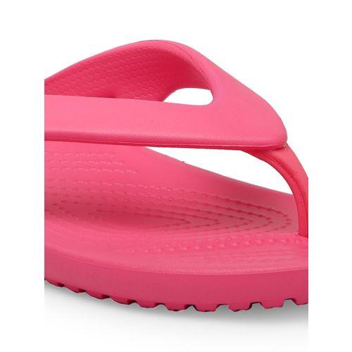 Crocs Women Pink Solid Thong Flip-Flops