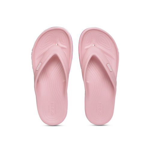 Crocs Unisex Pink Solid Clogs