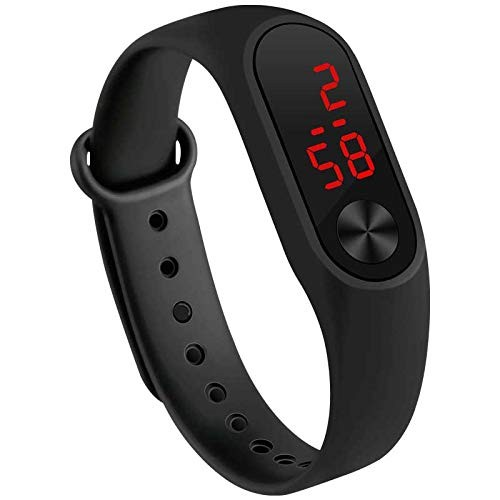 VITREND(R-TM) New Model Silicone LED Digital Good Looking Watch for Boys& Girls