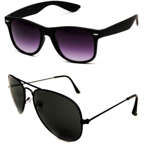 Barbarik Aviator, Wayfarer Sunglasses