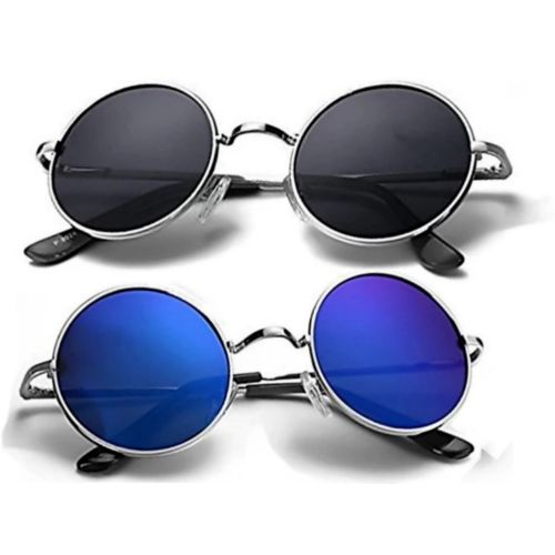 shah collections Round Sunglasses