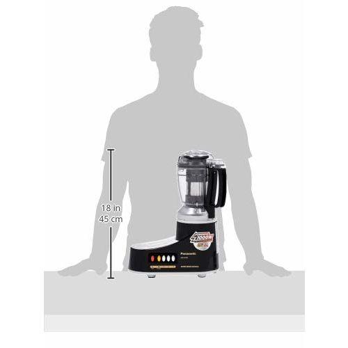 Panasonic AC MX-AC400 1000-Watt Mixer Grinder with 4 Jars (Black)