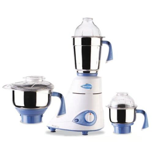Preethi Blue Leaf Gold 750-Watt Mixer Grinder (White/Blue)