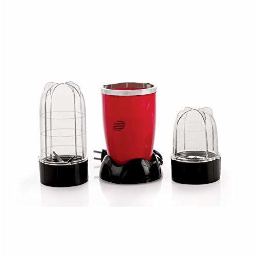 Cookwell 450 Watt All -in -1 Bullet Juicer Mixer Grinder Blender (Red)