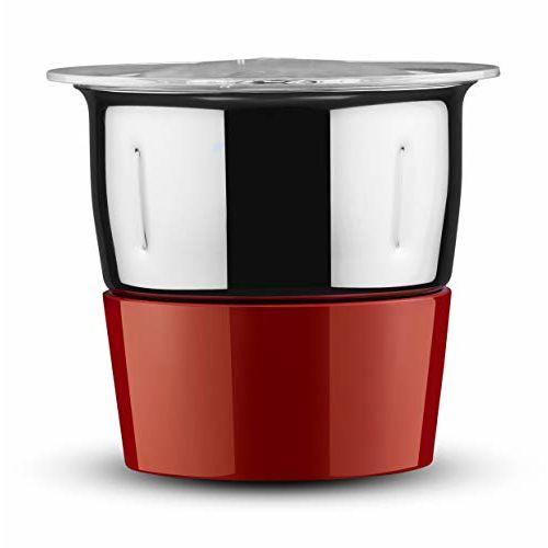 Butterfly Lightning 750-Watt Mixer Grinder with 4 Jars (Red)