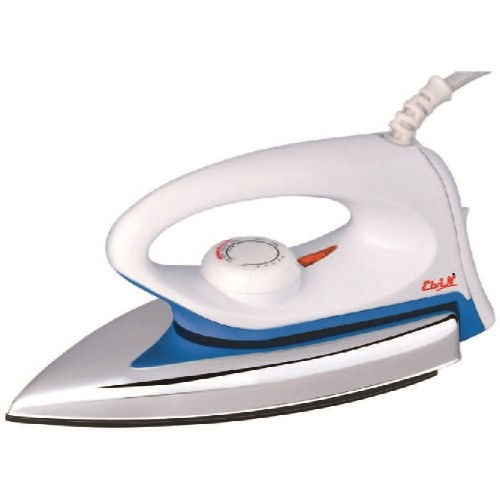 Elvin White Dzire Light Weight Electric 750 W Dry Iron