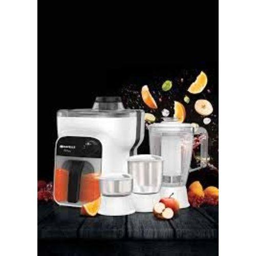 Havells Stilus 4 Jar 500-Watt Juicer Mixer Grinder (whitr/Black)