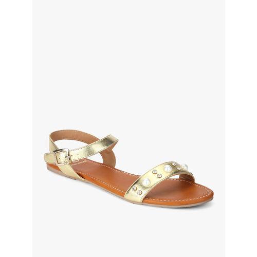 Carlton London Gold Sandals