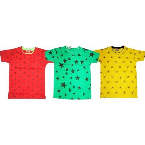 2df565bf958 Buy Kifayati Bazar Boy s   Girl s Printed Hoisery T Shirt online ...