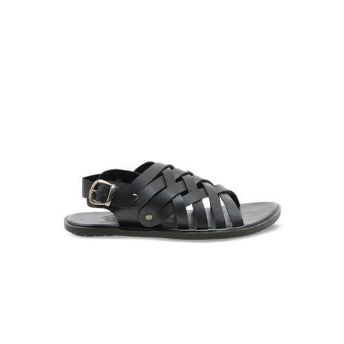 WCFC Men Black Fisherman Sandals