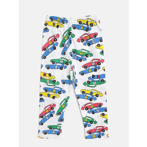 Lazy Shark Boys Multicoloured Printed Night Suit BDRS0138