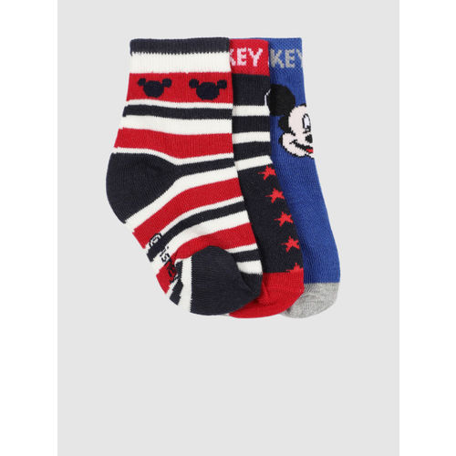 YK Disney Kids Pack of 3 Patterned Above Ankle-Length Socks SPEN-YKDIS-KIDS-3