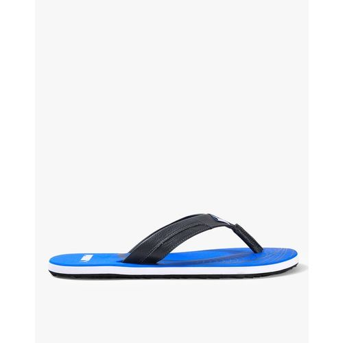 Puma Men Grey Solid Oleum IDP Thong Flip-Flops