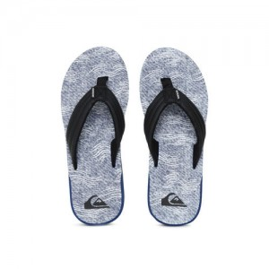Quiksilver Men Blue Printed Thong Flip-Flops