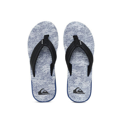 Quiksilver Men Blue Printed Thong Flip-Flops