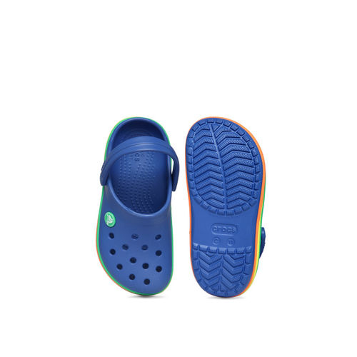 Crocs Boys Blue Clogs