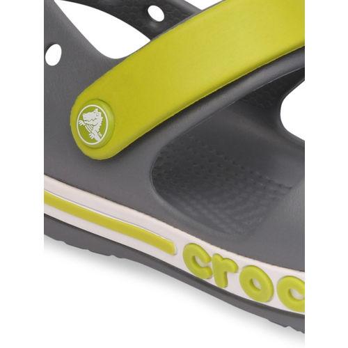 Crocs Boys Grey & Grey Comfort Sandals