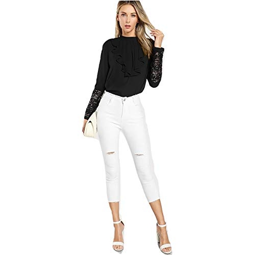 Alfa Fashion Casual Regular Sleeve Self Design Women White Top