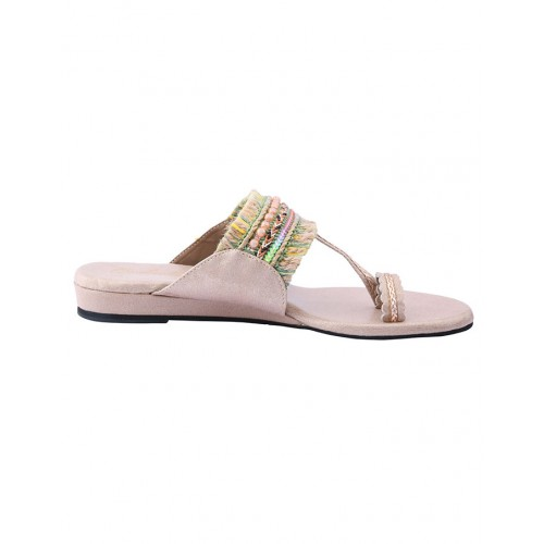 Cinderella Pink Synthetic flats