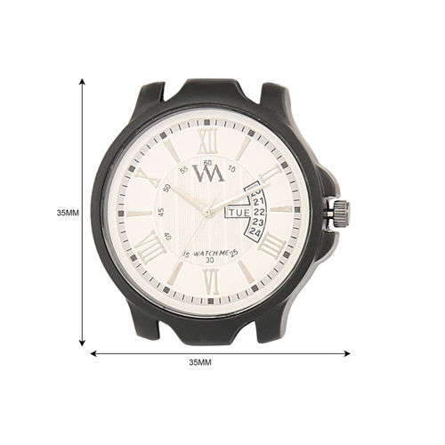 WM Men Black Analogue Watch DDWM-011z