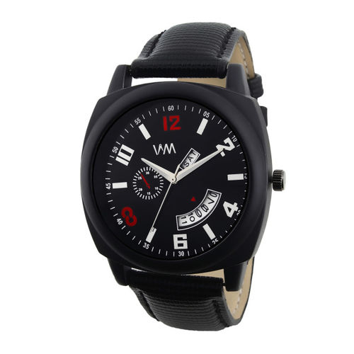 WM Men Black Analogue Watch DDWM-077zz