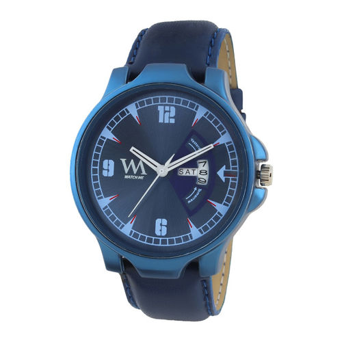 WM Men Blue Analogue Watch DDWM-080zx
