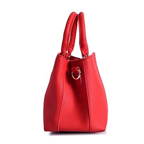 Lino Perros Red Leather Handbag