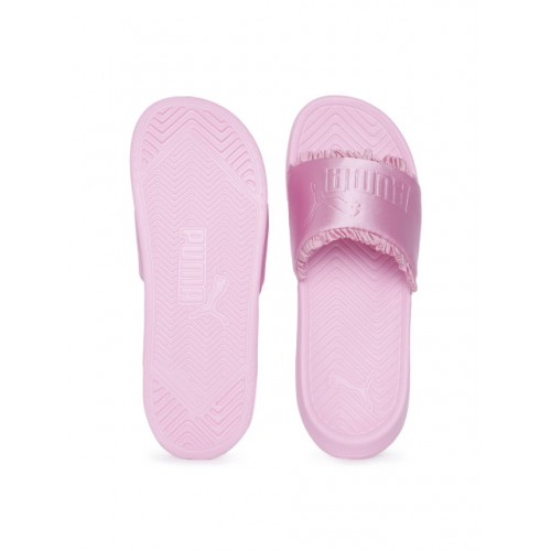 Puma Pink Synthetic Solid Flipflop