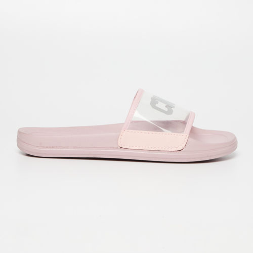 Ginger by Lifestyle Pink Rubber Solid Sliders
