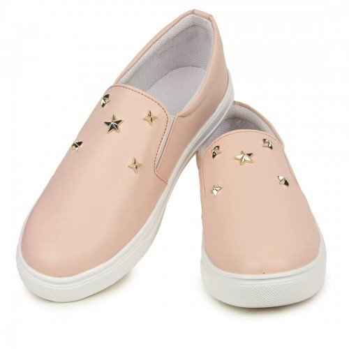Armado Pink Synthetic Slip-on Casual Shoes