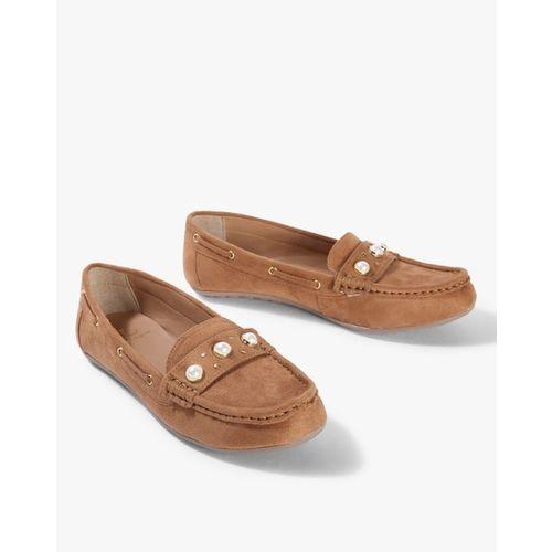Carlton London Women Tan Brown Loafers