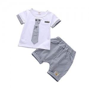 acaba66cbdc1 Buy Si Noir by Hopscotch Si Noir Boy s Cotton Tie Print Dungaree ...