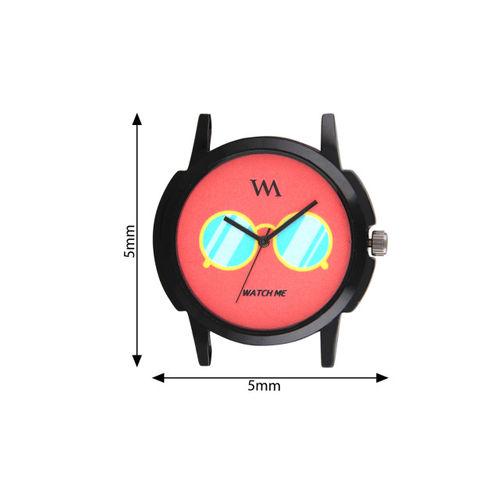WM Men Red Analogue Watch WMAL-289rp