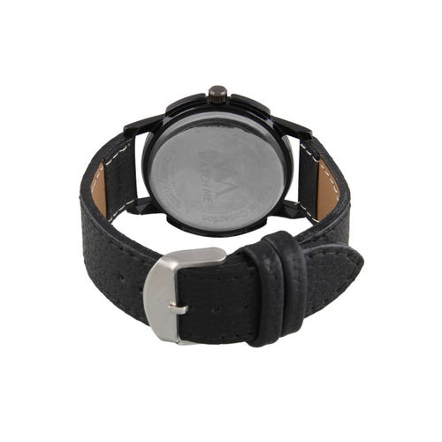 WM Men White & Black Analogue Watch WMAL-297rp