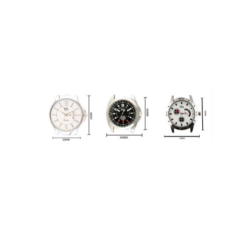 WM Men Set of 3 Analogue Watches AWC-012-013-018kjo
