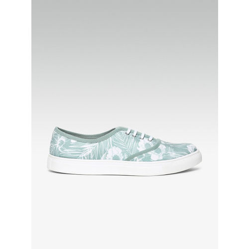 Carlton London Women Green Sneakers