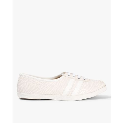 Carlton London Women White Sneakers