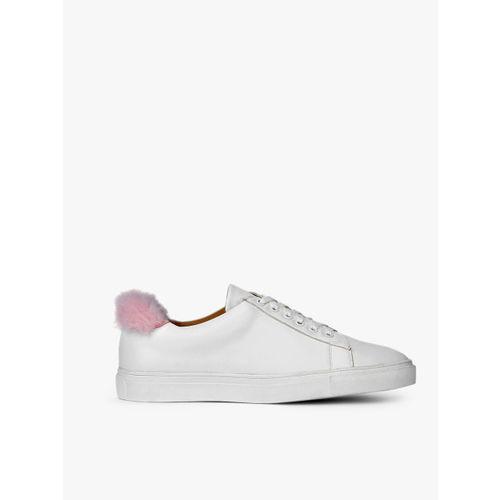 Carlton London White Casual Sneakers