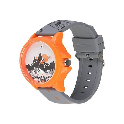 Fastrack 38024PP40 Tees Wicked Lines Unisex Analog Watch
