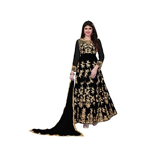 Royal Export Black Net Gown