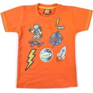 LITTLE KANGAROOS Boy's Printed Cotton T Shirt