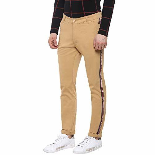 Urbano Fashion Grey Slim Fit Trousers