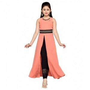 d83745671b Buy Hunny Bunny Peachpuff Dresses For Girls online | Looksgud.in