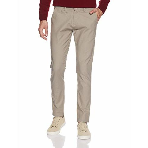 True Blue Men's Tapered Fit Chinos